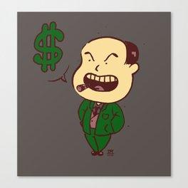 Mr. Business Canvas Print