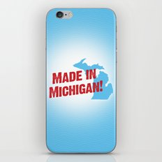 Made in Michigan iPhone & iPod Skin
