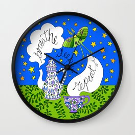 breathe, deeply, repeat ... Wall Clock