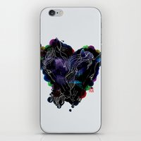 lovers iPhone & iPod Skins featuring LOVERS by i am gao