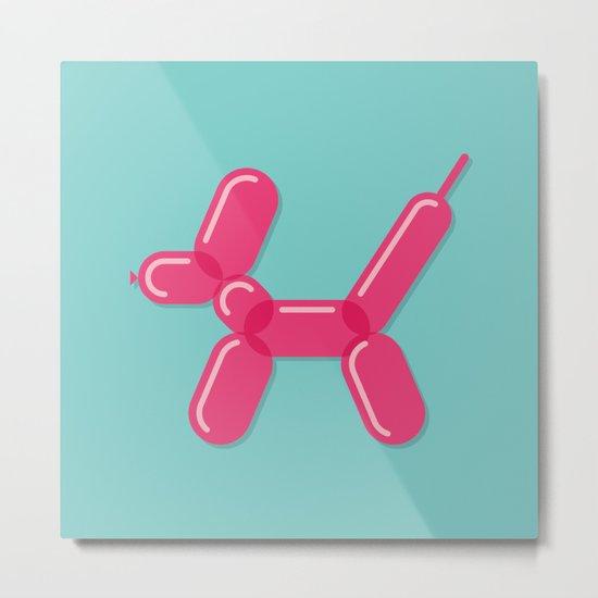 Balloon Dog Metal Print