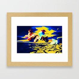 Eyo Framed Art Print