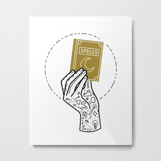 Learn Metal Print