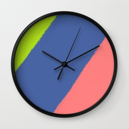 Crayon Wall Clock