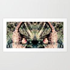 Reflect1 Art Print