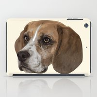 beagle iPad Cases featuring Beagle by Goncalo