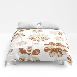 Shabby Flowers Comforters