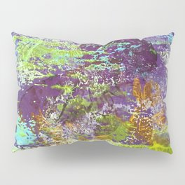 Heron Abstract Painting Pillow Sham
