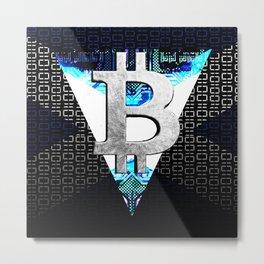 bitcoin scotland Metal Print