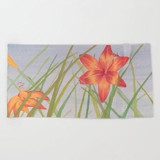 Lily Bloom Beach Towel