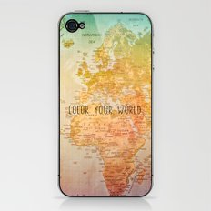 Color your World iPhone & iPod Skin