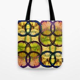 lemons pattern Tote Bag