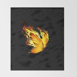 BurnOut Throw Blanket