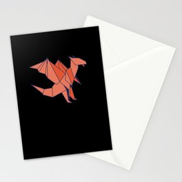 Origami Dragon Stationery Cards