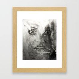 My sister Framed Art Print