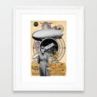 technology Framed Art Prints featuring Target Technology by Ira Carter