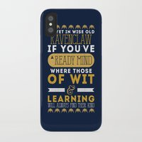 ravenclaw iPhone & iPod Cases featuring Ravenclaw by Dorothy Leigh