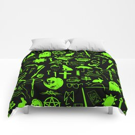 Buffy Symbology, Green Comforters