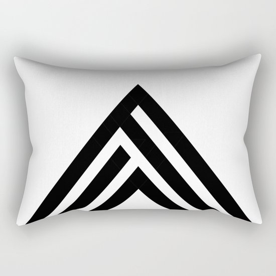 Hello VIII Rectangular Pillow