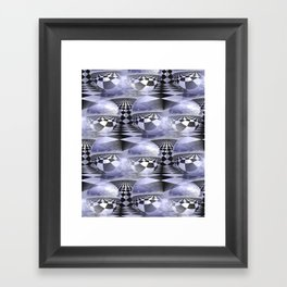 3D abstraction -22- Framed Art Print
