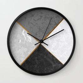 Concrete Marble Mix #5 #texture #decor #art #society6 Wall Clock