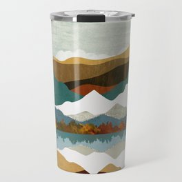 Winter Lake Travel Mug