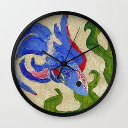 A Swim by the Seaweed Wall Clock