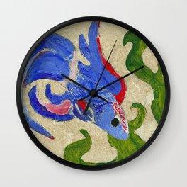 A Swim by the Seaweed Wall Clock