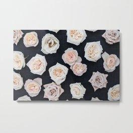 Roses on Ash Metal Print