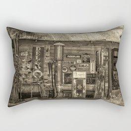 Antiqued Antiques Rectangular Pillow