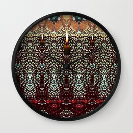 """DARKNESS IS YOUR CANDLE"" Wall Clock"