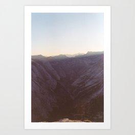 Yosemite, CA Art Print