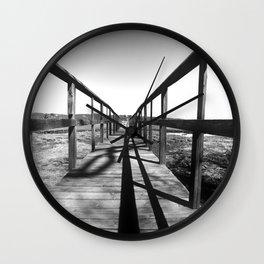 Theodore Roosevelt Beach Path Wall Clock