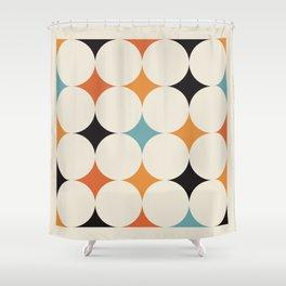 Art print mid century modern, mid century modern art, mid century modern decor, prints, abstract art Shower Curtain