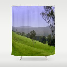 """""""Valley of a Thousand Hills"""" Shower Curtain"""