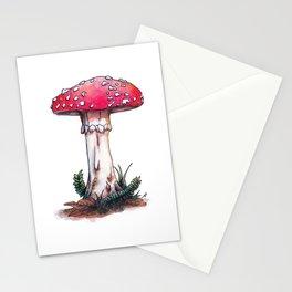 Fairy Mushroom Stationery Cards