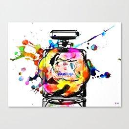 Parfum Rainbow Canvas Print