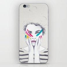 War Paint Ramona iPhone & iPod Skin