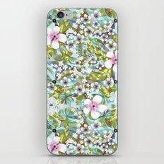Flowers 'n Rain. iPhone & iPod Skin