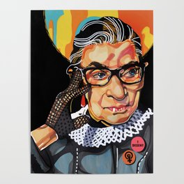 Ruth Bader Ginsburg Poster