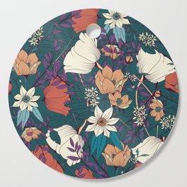 Botanical pattern 008 Cutting Board