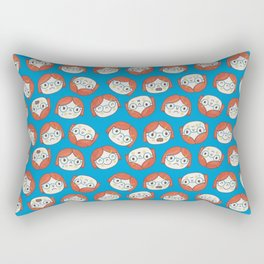 Pattern Project #13 / Mood Swings Rectangular Pillow