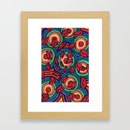 Letters 001 Framed Art Print