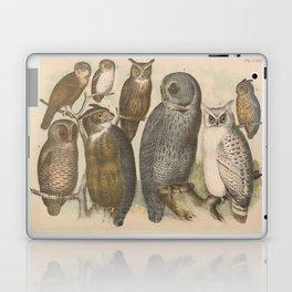 Naturalist Owls Laptop & iPad Skin