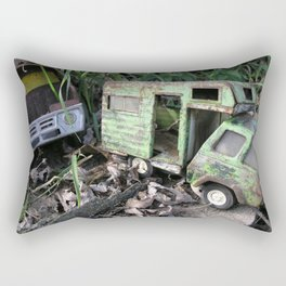 Rusty Toy Trucks Rectangular Pillow