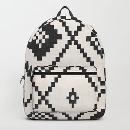 Salah in Black and White Backpack