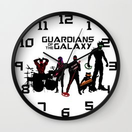 Guardians of the Galaxy - Awesome Mix Vol.2 Wall Clock