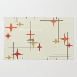 Mid Century Modern Stars Rug