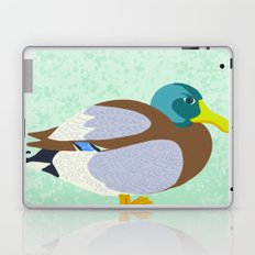 Mallard Duck Laptop & iPad Skin