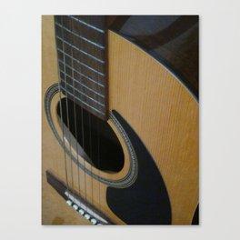 My Guitar Sound Canvas Print